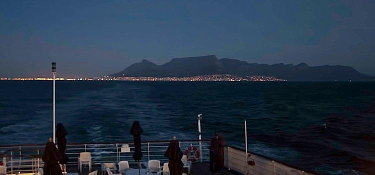 Sun Down Over Cape Town