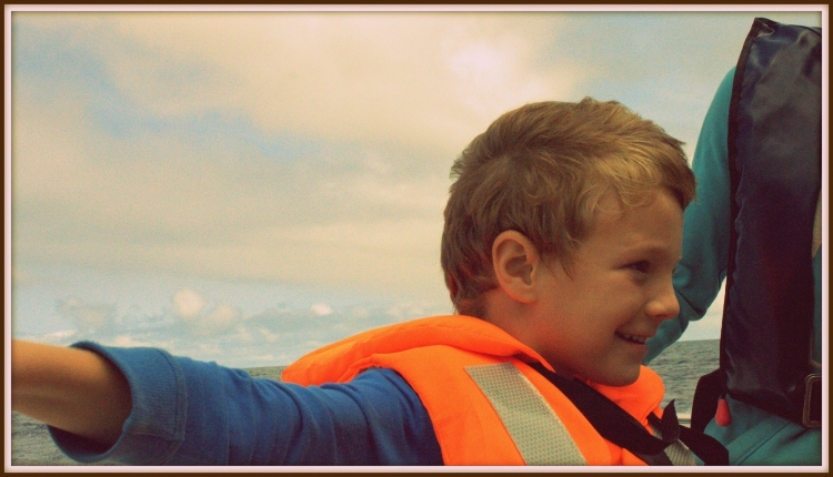 My eldest Oliver enjoying his cruise