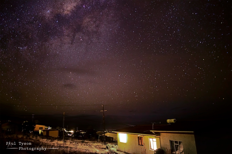 Night sky at Half Tree Hollow St Helena