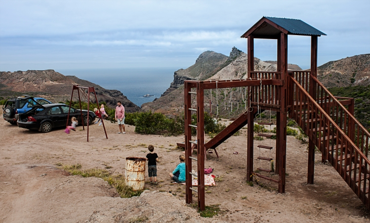 Park at the end of the World St Helena