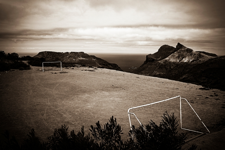 Worlds most remote fotball pitch