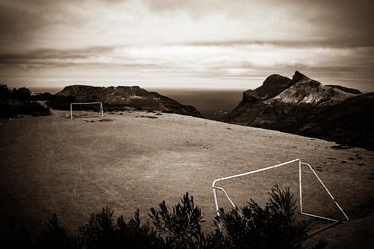 Worlds most remote fotball pitch