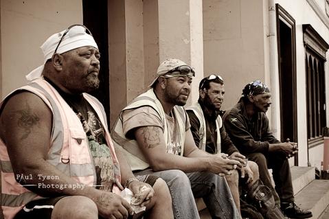 caution men at work