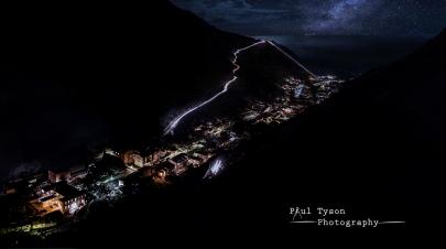 Jamestown Nightscape St Helena
