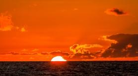 Sunset at Sea on St Helena Island 3
