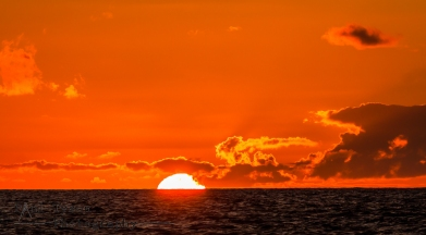 Sunset at Sea on St Helena Island 3