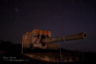 WWII Canon Nightscape
