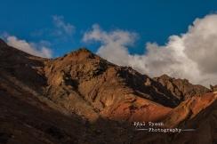 Steep sides erroded valleys of Sandy Bay National Park