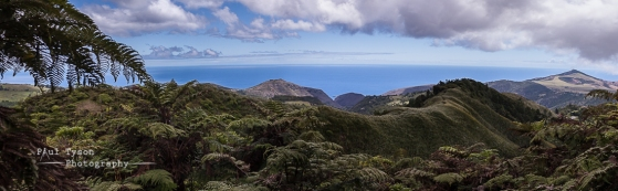 High Knoll and Flagsfatt from the Central Ridge St Helena