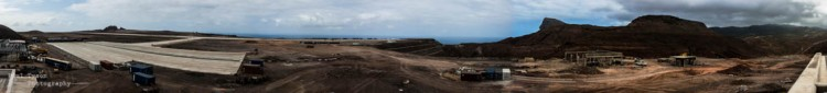 180 degree view from the controltower