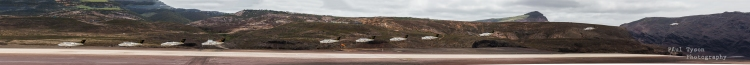 Beach King Air 200 comes in to Land at St Helena Airport.