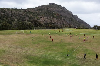 International football on St Helena