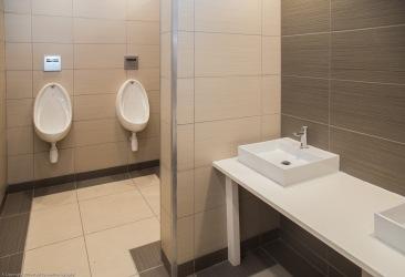 Even the toilets are posh!