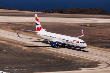 St Helena Commercial Jet Flight (25)