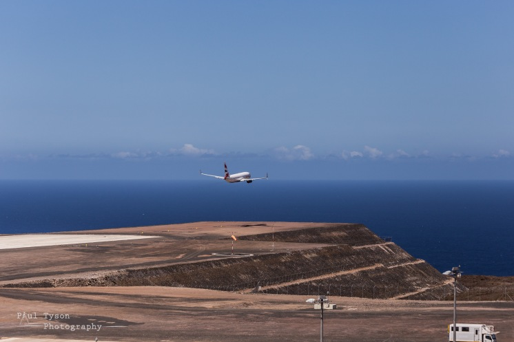 St Helena Commercial Jet Flight (7)