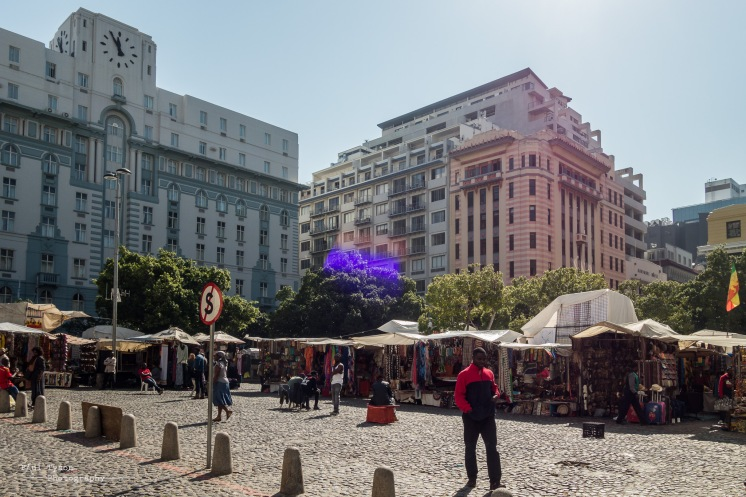 Market in Cape Town City Center
